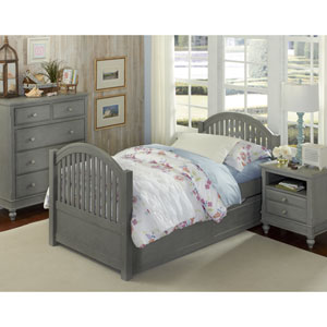 Lake House Stone Adrian Twin Bed with Trundle