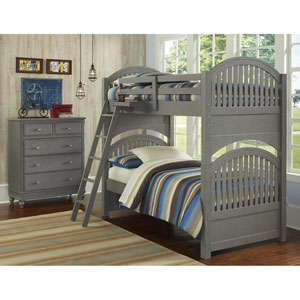 Lake House Stone Adrian Twin Bunk Bed