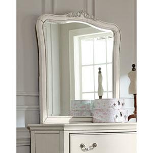 Kensington Antique White Dresser Mirror