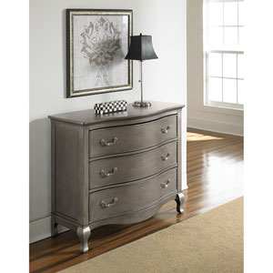 Kensington Antique Silver 3 Drawer Single Dresser