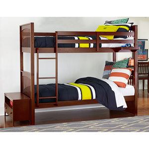 Pulse Cherry Twin Bunk Bed