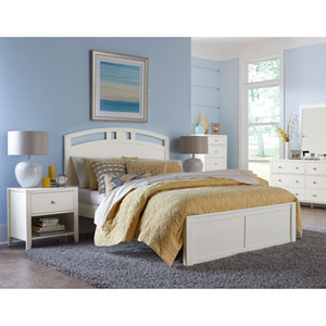Pulse White King Arch Bed
