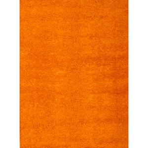 Domino Orange Rectangular: 5 In. x 8 In. Rug