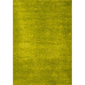 Domino Apple Green Rectangular: 5 In. x 8 In. Rug