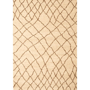 Granada Terzo Ivory Rectangular: 5 Ft. 3 In. x 7 Ft. 6 In. Rug