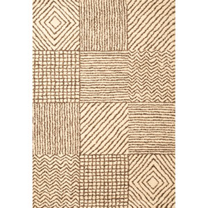 Granada Impressions Ivory Rectangular: 5 Ft. 3 In. x 7 Ft. 6 In. Rug
