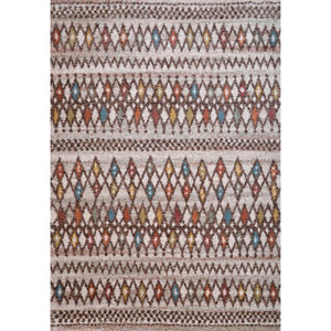 Granada Batala Multicolor Rectangular: 5 Ft 3 In x 7 Ft 6 In Rug