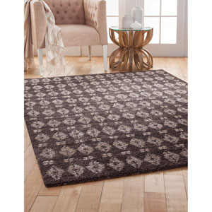 Granada Brown and Ivory Rectangular: 5 Ft. 3 In. x 7 Ft. 6 In.  Rug