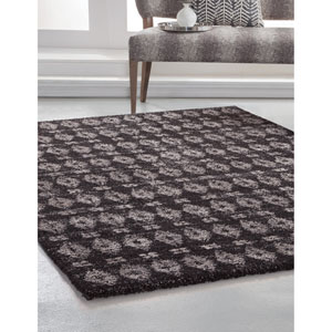 Granada Charcoal and Natural Rectangular: 5 Ft. 3 In. x 7 Ft. 6 In.  Rug