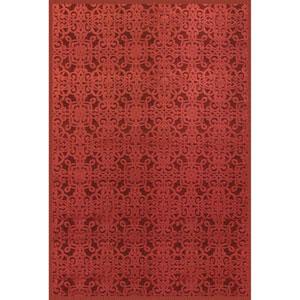 Napa Kilbourne Red Rectangular: 5 Ft. 3 In. x 7 Ft. 6 In. Rug