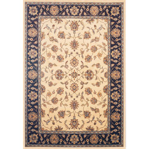 Sonoma Eden Cream Rectangular: 5 Ft. 3 In. x 7 Ft. 6 In. Rug