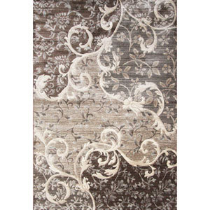 Sonoma Chauncy Grey Rectangular: 5 Ft. 3 In. x 7 Ft. 6 In. Rug