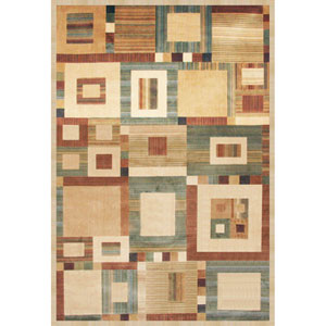 Sonoma Austin Beige Rectangular: 5 Ft. 3 In. x 7 Ft. 6 In. Rug