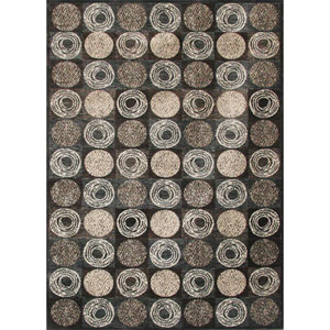 Sonoma Halsted Charcoal Rectangular: 5 Ft. 3 In. x 7 Ft. 6 In. Rug