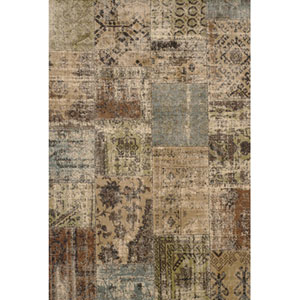 Abacasa Sonoma Mendota Beige/Brown/Green/Lt. Blue Area Rug