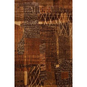 Sonoma Natoma Rust Rectangular: 5 Ft. 3 In. x 7 Ft. 6 In. Rug