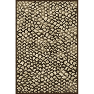 Sonoma Corliss Chocolate Rectangular: 5 Ft. 3 In. x 7 Ft. 6 In. Rug