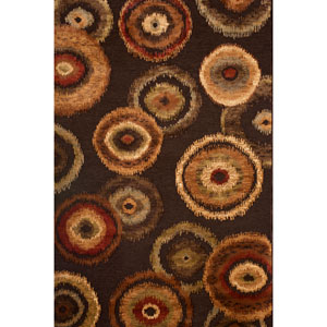 Sonoma Kinzie Chocolate Rectangular: 5 Ft. 3 In. x 7 Ft. 6 In. Rug