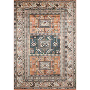 Sonoma Myan Aqua Rectangular: 5 Ft. 3 In. x 7 Ft. 6 In. Rug