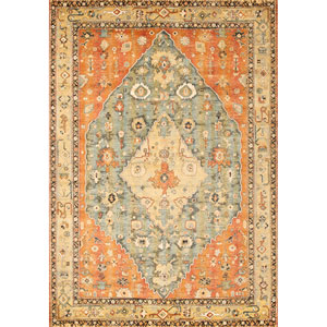 Sonoma Jewels Aqua Rectangular: 5 Ft. 3 In. x 7 Ft. 6 In. Rug