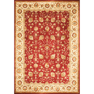 Sonoma Valentino Red Rectangular: 5 Ft. 3 In. x 7 Ft. 6 In. Rug