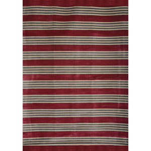 Sonoma Raspberry and Ivory Rectangular: 5 Ft 3 In x 7 Ft 6 In Rug