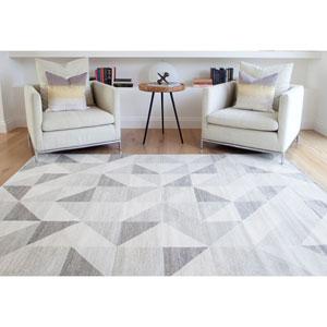 Abacasa Sonoma Colburn Silver-Grey/Med. Grey/White Area Rug