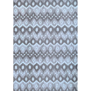 Sonoma Orly Dark Grey and White Rectangular: 5 Ft 3 In x 7 Ft 6 In Rug