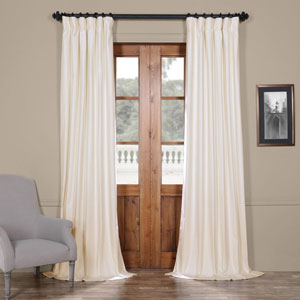 Fresh Popcorn 50 x 108-Inch Solid Cotton Blackout  Curtain
