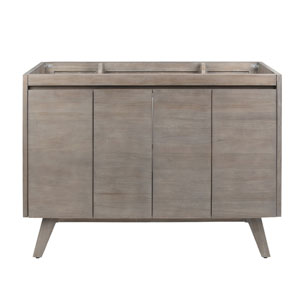 Coventry 48 inch Vanity Only in Gray Teak