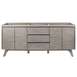 Coventry 72 inch Vanity Only in Gray Teak