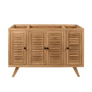 Harper 48 inch Vanity Only in Natural Teak