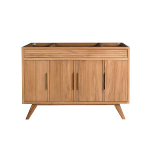Taylor Natural Teak 48-Inch Bathroom vanity
