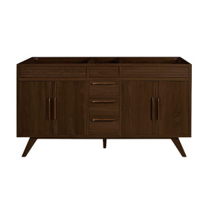 Taylor Brown Teak 60-Inch Bathroom vanity