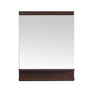 CityLoft 28 inch Mirror in Light Espresso finish