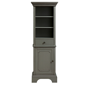 Hastings 22 inch Linen Tower in French Gray finish