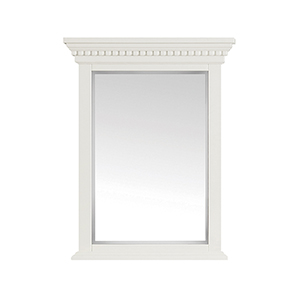 Hastings 24 inch Mirror in French White finish