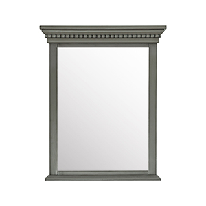 Hastings 28 inch Mirror in French Gray finish