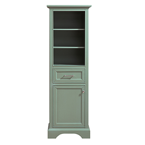 Mercer 22 inch Linen Tower in Sea Green finish