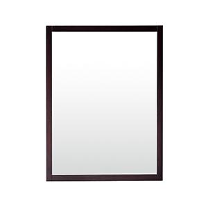 Rockford 24 inch Mirror in Dark Espresso finish
