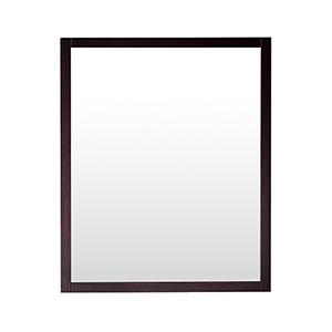 Rockford 28 inch Mirror in Dark Espresso finish