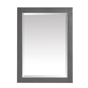 Twilight Gray 24-Inch Mirror
