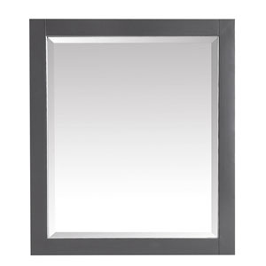 Twilight Gray 28-Inch Mirror
