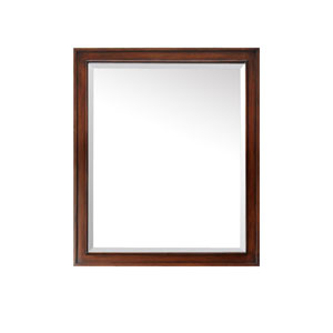 Brentwood 30-Inch New Walnut Mirror