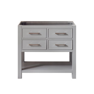 Brooks Chilled Gray 36-Inch Vanity Only