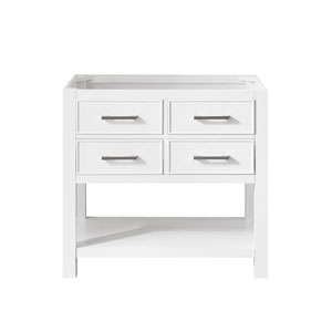 Brooks White 36-Inch Vanity Only
