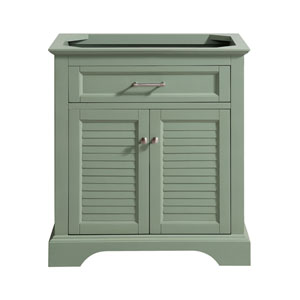 Colton Basil Green 30-Inch Vanity Only