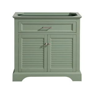 Colton Basil Green 36-Inch Vanity Only