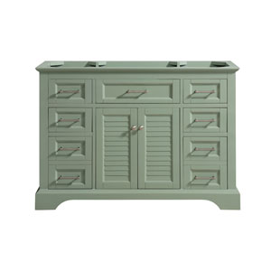 Colton Basil Green 48-Inch Vanity Only