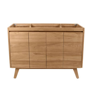 Coventry 48 inch Vanity Only in Natural Teak